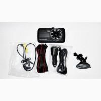 DVR G520 4 Full HD с выносной камерой заднего вида