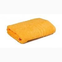 "Полотенце махровое ""Уют"" (желтое), 50х90 см"