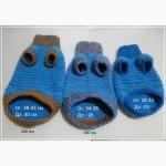 Сиреневый плюшевый свитерок для кошек и собачек Ручное вязание
