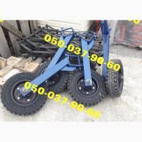 Колесо опорное/транспортное культиватора КРН/реальное фото Покупайте новое опорное колесо