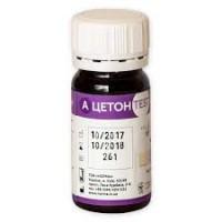 Тест-полоски Ацетонтест, для определения содержания кетоновых тел в моче