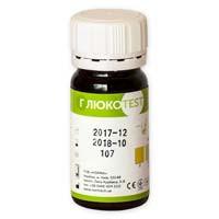 Визуальные тест-полоски «Глюкотест» для определения содержания глюкозы в моче