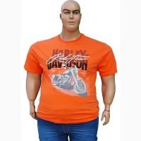 Футболка HARLEY DAVIDSON большого размера
