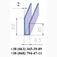 Стартовый профиль алюминиевый (L-образный)
