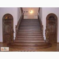 Качественные лестницы из дерева на второй этаж