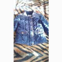 Утепленная стеганая курточка для мальчика
