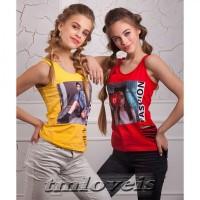 Качественные подростковые майка и футболка для девочек. Опт, розница