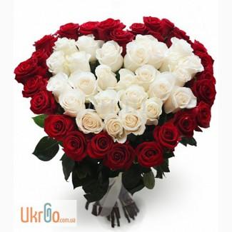 Розы оптом, букеты, лепестки на свадьбу
