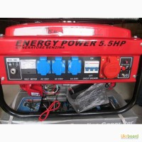Бензиновый генератор Kraft Storm 3500W. 3, 5 кВт. 380В. Германия. Распродажа