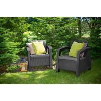 Садовая мебель Bahamas Duo Set искусственный ротанг Allibert, Keter