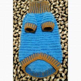 Свитер комфортный плюшевый для кошек и собак Ручное вязание