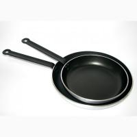 Сковорідка професійна, алюмінієва 26 см, пательня для ресторану, кафе, Restoposud